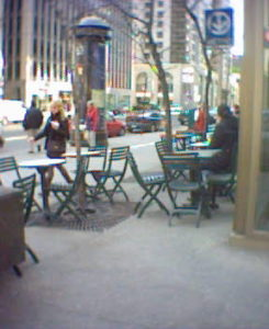first patio