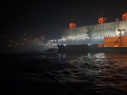 the dam at 3 am.
