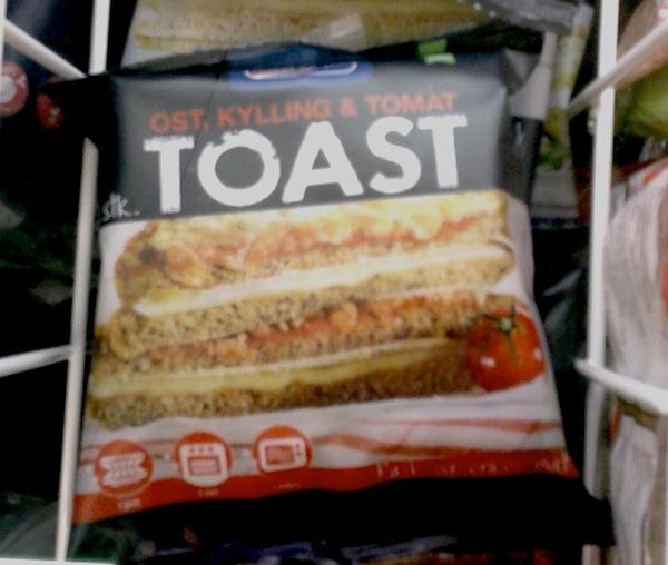 frozen toast