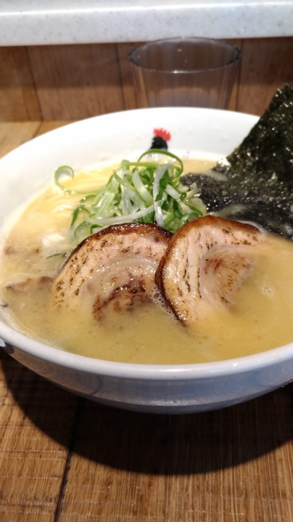 Chicken broth ramen with seared pork at Totto Taipei